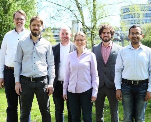 Das Team von Sensosurf.