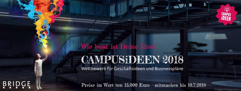 Gewinner des Bremer Startup-Wettbewerbs CAMPUSiDEEN stehen ...